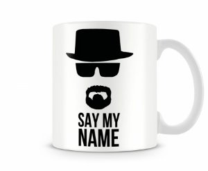Caneca Breaking Bad Say My Name