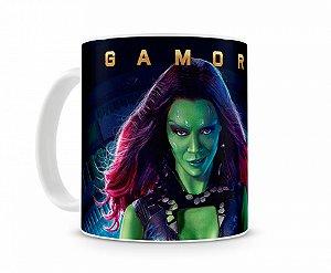 Caneca Guardiões da Galaxia Gamora
