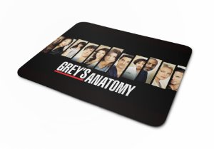 Mousepad Greys Anatomy Personagens I