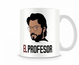 Caneca La Casa de Papel Professor I
