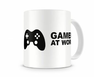Caneca Gamer At Work I