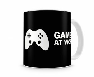 Caneca Gamer At Work IV