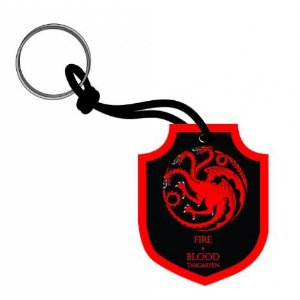 Chaveiro Emborrachado Game Of Thrones Targaryen