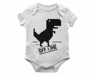 Body Bebê Dino Off TAM: G