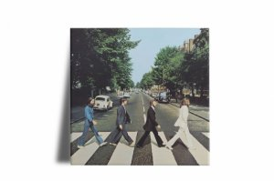 Azulejo Decorativo Beatles Abbey Road 15x15