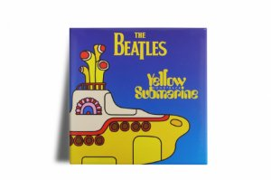 Azulejo Decorativo Beatles Yellow Submarine 15x15