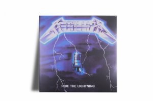Azulejo Decorativo Metallica Ride the Lightning15x15