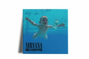 Azulejo Decorativo Nirvana Nevermind 15x15
