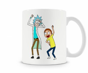 Caneca Rick And Morty mod 2