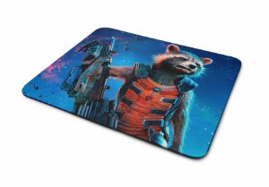 Mousepad Guardiões da Galaxia Rocket