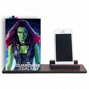 Organizador de Mesa Guardiões da Galaxia Gamora