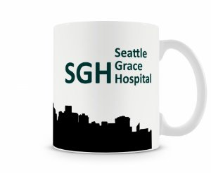 Caneca Greys Anatomy Seattle MOD 2