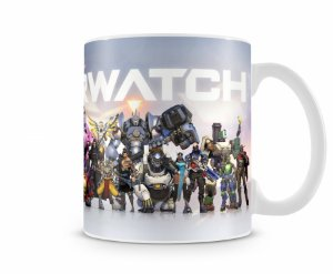Caneca Overwatch Personagens