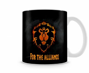 Caneca World Of Warcraft Aliança