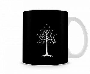 Caneca senhor dos anéis árvore de Gondor