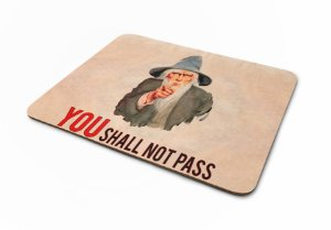 Mousepad Senhor dos Aneis Gandalf You Shall Not Pass