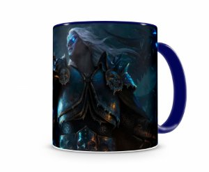 Caneca World Of Warcraft Artha II Azul