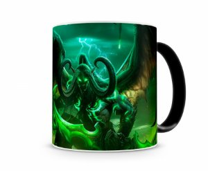 Caneca Mágica World Of Warcraft Illidan I