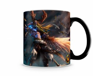 Caneca Mágica World Of Warcraft Malfurion I