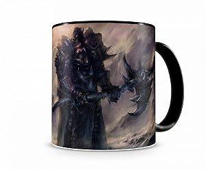 Caneca World Of Warcraft Orc I Preta