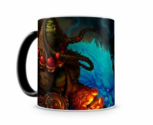 Caneca Mágica World Of Warcraft Thrall I