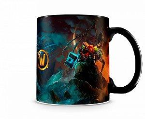 Caneca World Of Warcraft Thrall II Preta