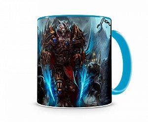 Caneca World Of Warcraft Worgen I Azul