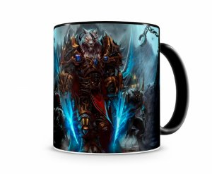 Caneca World Of Warcraft Worgen I Preta