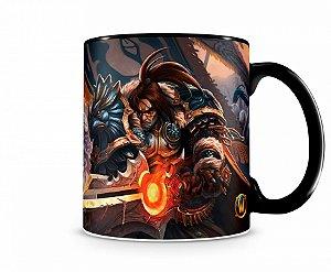 Caneca World Of Warcraft Varian I Preta