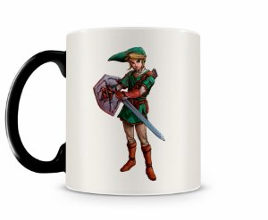 Caneca Mágica Legend Of Zelda Luke