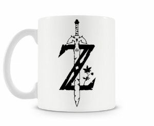 Caneca Legend Of Zelda Esp