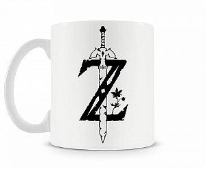 Caneca Legend Of Zelda Espada