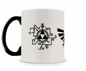 Caneca Mágica Legend Of Zelda Icones