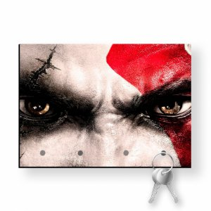 Porta Chaves Com Imã God Of War Kratos Olhos