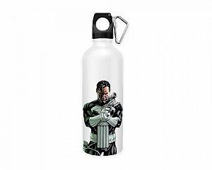 Squeeze aluminio branco Marvel Justiceiro 2