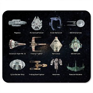 Mousepad Naves Sci-fi
