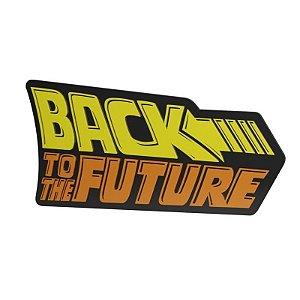 Quadro relevo De volta para o futuro