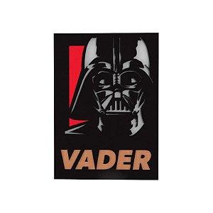 Quadro relevo Star Wars Darth Vader