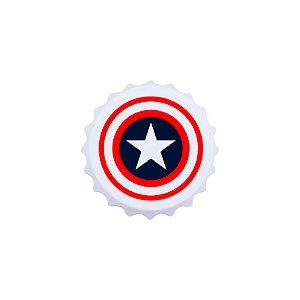 Abridor de garrafas Capitão América