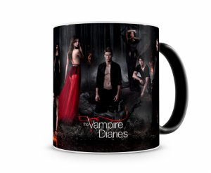 Caneca Mágica The Vampires Diaries