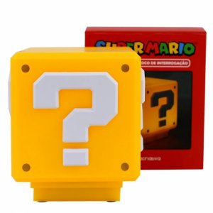 Luminaria Bloco Super Mario