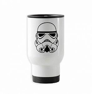 Caneca térmica para carro branca Star Wars Stormtrooper