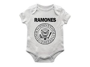 Body Bebê Ramones TAM G