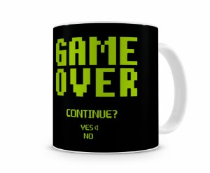 Caneca Game Over Continue