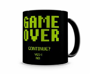 Caneca Mágica Game Over Continue