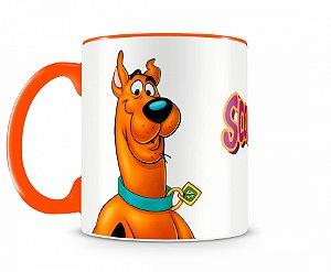 Caneca Scooby Doo Laranja