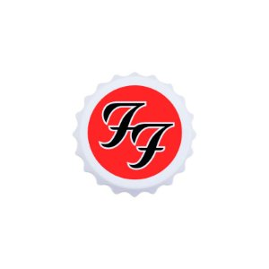 Abridor de garrafas Foo Fighters