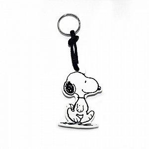 Chaveiro emborrachado Snoopy