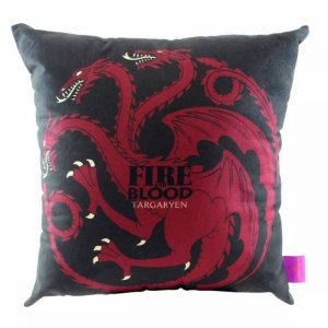Almofada veludo Targaryen Game of Thrones