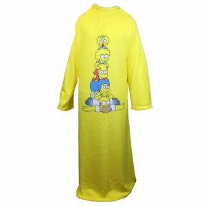 Cobertor com mangas Simpsons